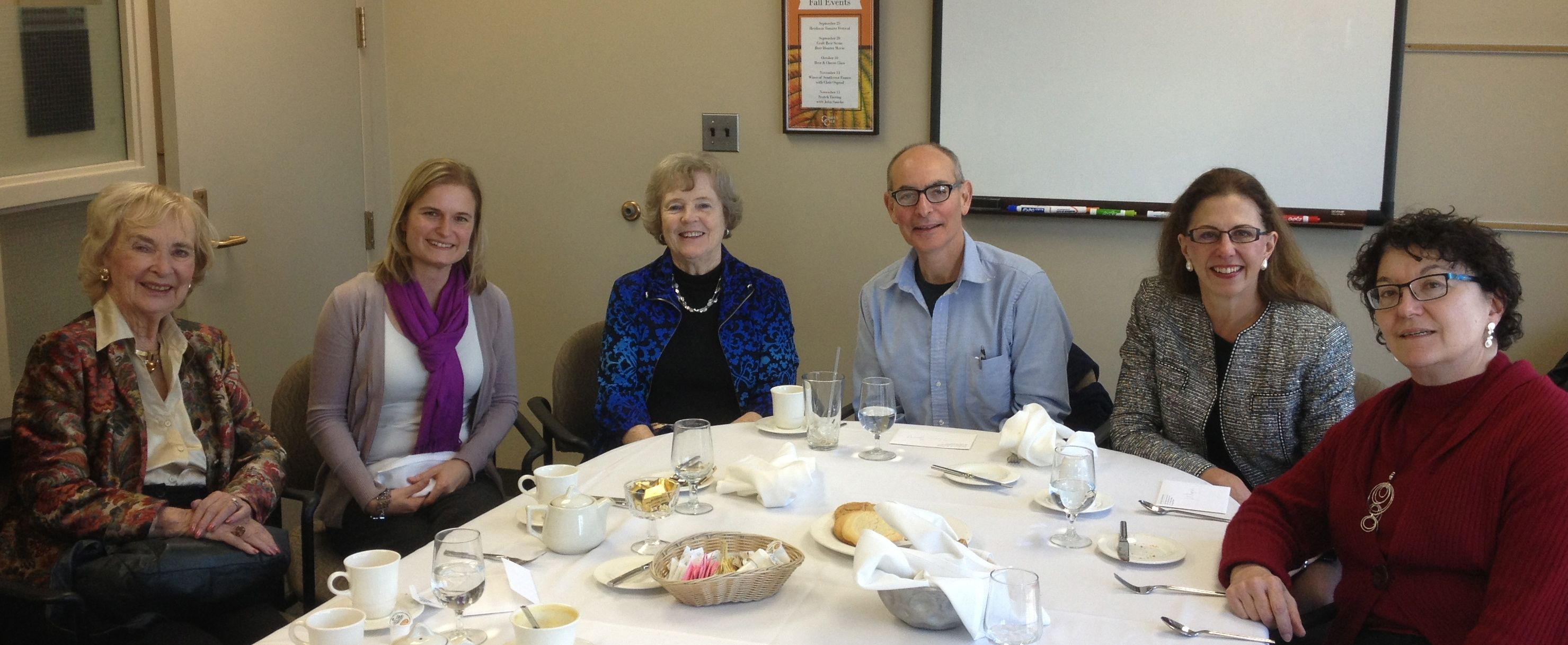 Kickoff of Judd Alumni occasional lunch series
