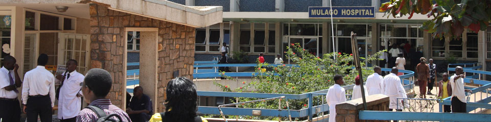 U of M partner Mulago Hospital in Kampala, Uganda