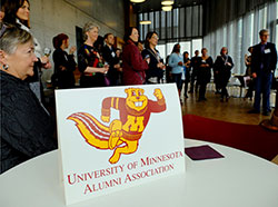 Alumni reception in Iceland