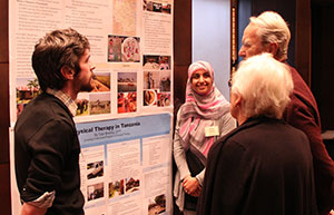 Judd Fellows answer questions about their poster