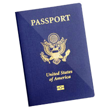 cover of a passport